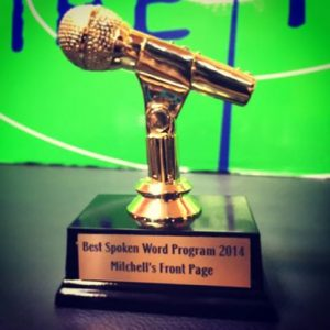 Mitchell's Front Page- best spoken word program in 2014