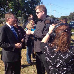 Mitchell Dye interviews the Premier Denis Napthine