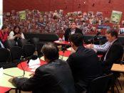 Mitchell Dye moderates the Lara Debate