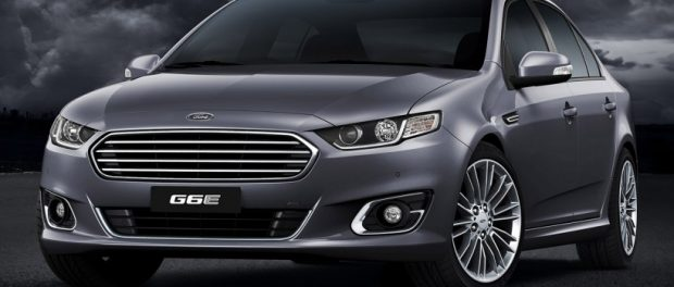 The new Ford Falcon FGX