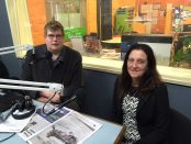 Mitchell Dye with Christine Couzens MLA