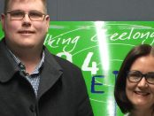 Mitchell Dye with Sarah Henderson MP