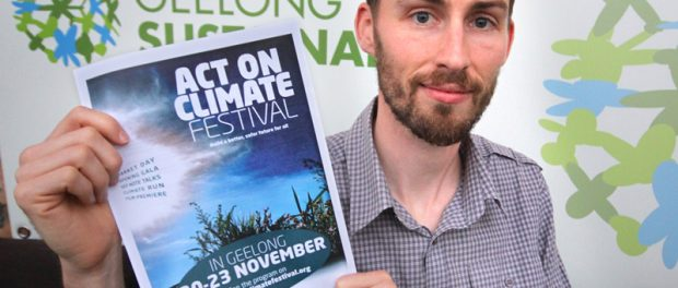 Dan Cowdell, President of Geelong Sustainability