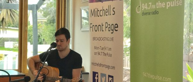 Isaac Wright playing for Mitchell's Front Page