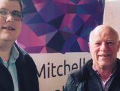 Mitchell Dye with Denis O'Bryan
