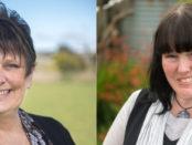 Bronwen Baker and Naomi Adams