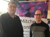 Mitchell Dye with David Corbet