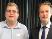 Mitchell Dye and Sander van Amelsvoort