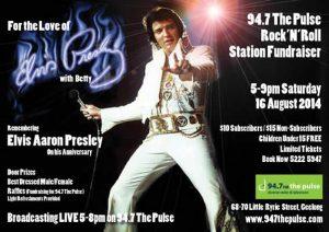Elvis Fundraiser Poster