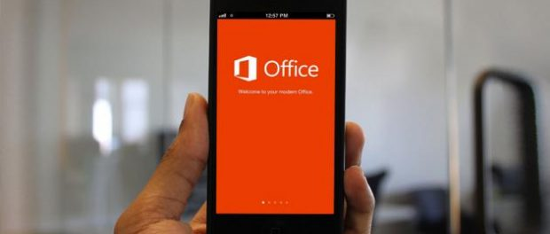 iPhone with Microsoft Office