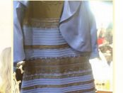 What colour is the dress?
