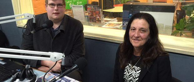 Mitchell Dye with Christine Couzens MLA