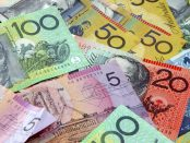 Australian notes and money