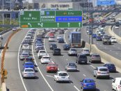 Melbourne car traffic