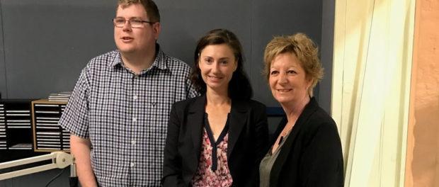 Mitchell Dye, Simone McKenzie, Rosemary White