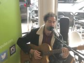 Jimi Crisp playing live on 94.7 The Pulse