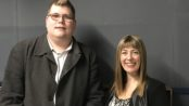 Mitchell Dye with Rebecca Casson