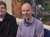 Mitchell Dye with Mik Aidt