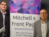 Mitchell Dye with David Withington
