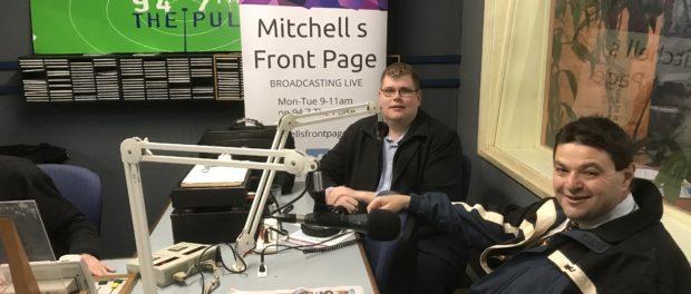 Mitchell Dye with Andrew Katos