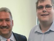Barry Matherly with Mitchell Dye