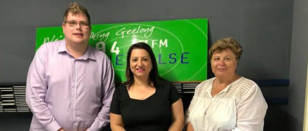 Mitchell Dye with Rosa and Gina from West End Real Estate
