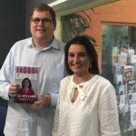 Mitchell Dye with Jacqui Lambie