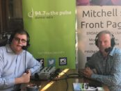 Mitchell Dye with Brian McKiterick