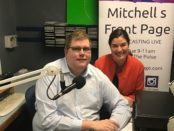 Mitchell Dye with Jennifer Cromarty