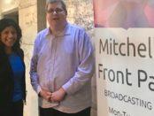 Samantha Ratnam MLC with Mitchell Dye