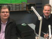 Mitchell Dye with Liberal candidate for Bellarine Brian McKiterick