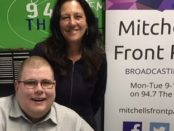 Mitchell Dye and Christine Couzens