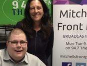 Mitchell Dye with Christine Couzens