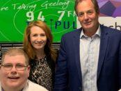 Mitchell Dye, Davina Montgomery and Simon Ramsay