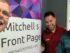 Mitchell Dye with Mark Heenan and Bucket