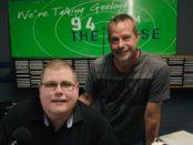 Mitchell Dye with Stuart Grimley