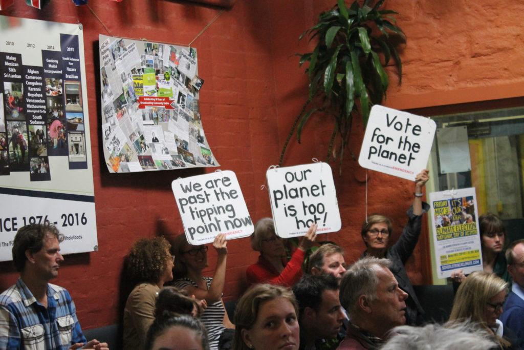 Corangamite candidates forum audience