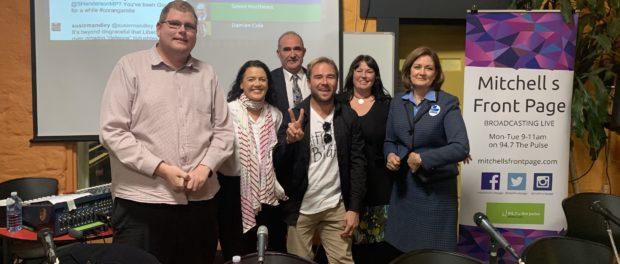 Mitchell Dye with corangamite Candidates