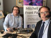 Mitchell Dye with Richard Riordan