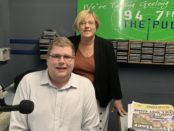 Mitchell Dye with Lisa Neville