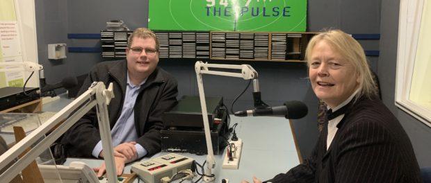 Mitchell Dye with Victorian Senate candidate Kammy Cordner Hunt