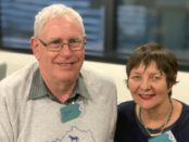 Richard Scherer and Barbie Robinson- Living Arts Canberra