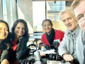 Meera K, Pinky Chandran, Beula Anthony, Leo Renkin and Mitchell Dye