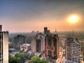 Smog in Dehli