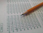 Exam test paper