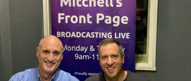 Brad Keating and Mark Woodhead, Pedal for Prostate