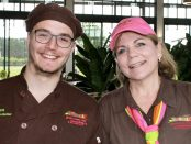 Allan Grandjean and Leanne Neeland from The Great Ocean Road Chocolaterie