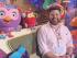Dr Ben Deery on the set of Play School