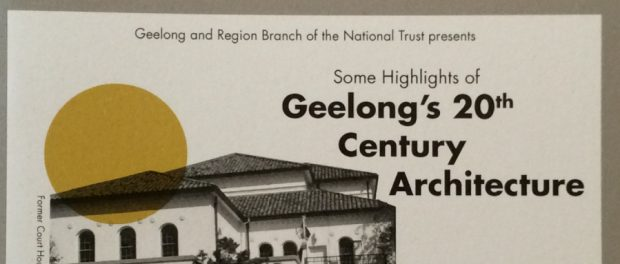 Geelong's 20th Century Architecture