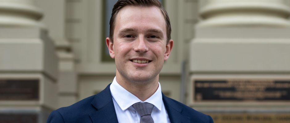 Geelong Deputy Mayor Cr Trent Sullivan